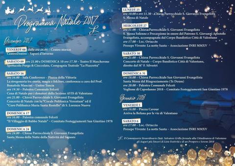 Programma festività di Natale